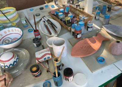 Corso di ceramica per gruppi